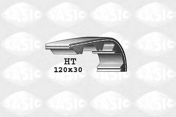 SASIC 1766010 Ремень ГРМ