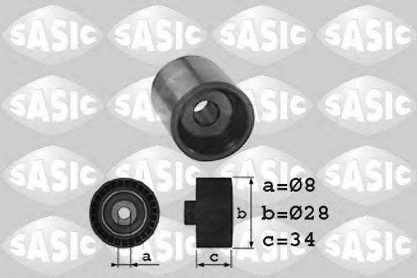SASIC 1706010 Паразитный / Ведущий ролик, зубчатый ремень