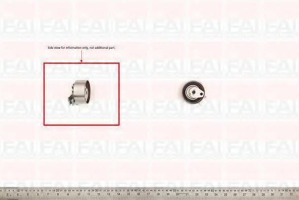 FAI AUTOPARTS T9258 Натяжной ролик, ремень ГРМ