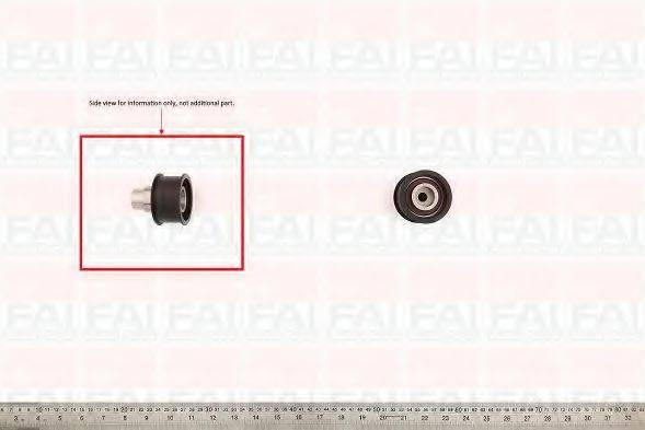 FAI AUTOPARTS T9263 Паразитный / Ведущий ролик, зубчатый ремень