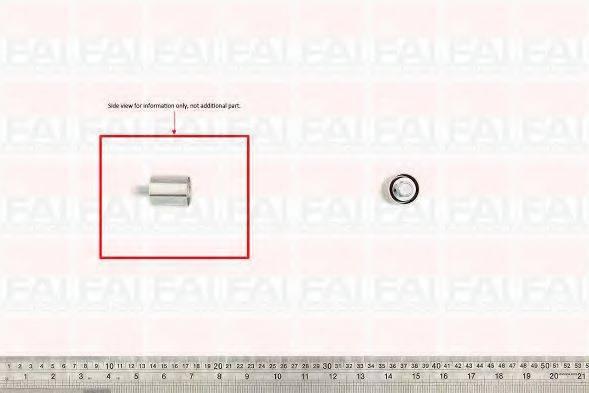 FAI AUTOPARTS T9362 Паразитный / Ведущий ролик, зубчатый ремень