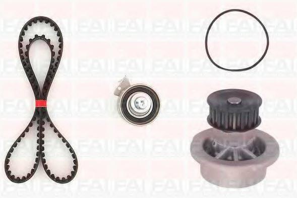 FAI AUTOPARTS TBK531350 Водяной насос + комплект зубчатого ремня
