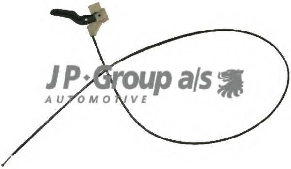 JP GROUP 1270700100 Тросик замка капота