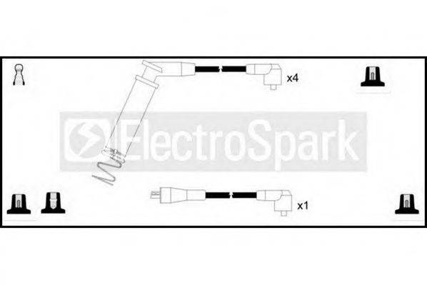 STANDARD OEK973 Комплект проводов зажигания