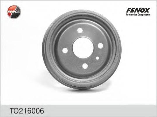 FENOX TO216006 Тормозной барабан