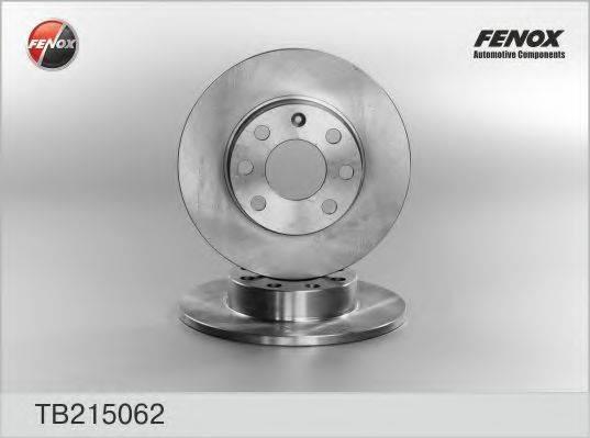 FENOX TB215062 Тормозной диск