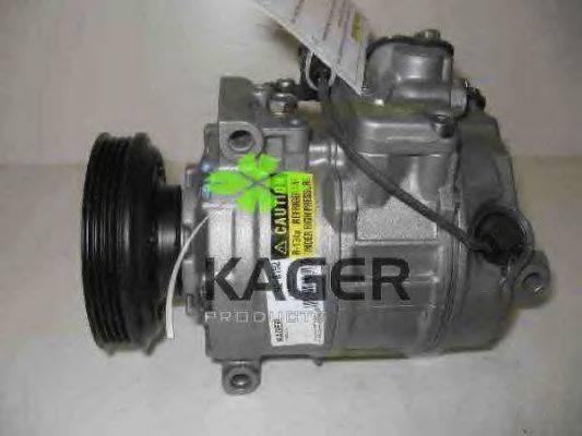 KAGER 920192 Компрессор, кондиционер