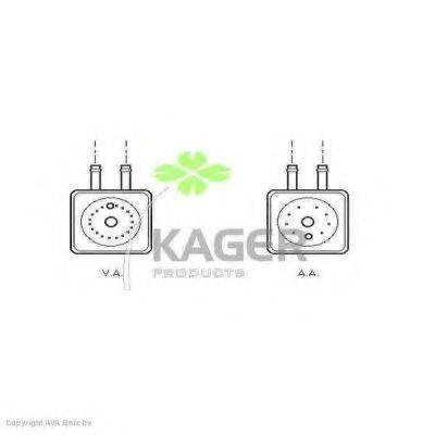 KAGER 313823 масляный радиатор, двигательное масло