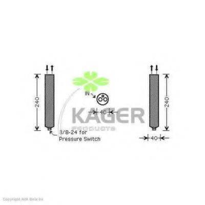 KAGER 945606 Осушитель, кондиционер