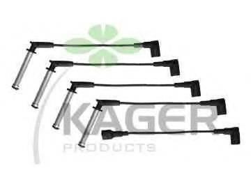 KAGER 640492 Комплект проводов зажигания