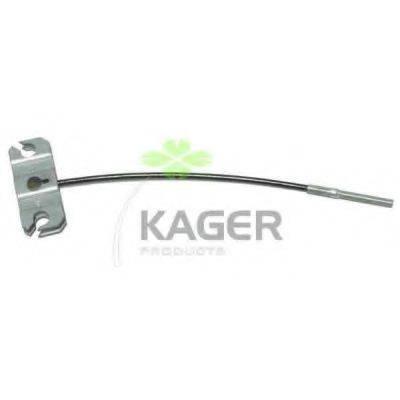 KAGER 196325 Трос, стояночная тормозная система