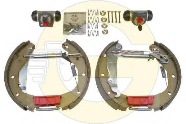 GIRLING 5316099 Комплект тормозных колодок