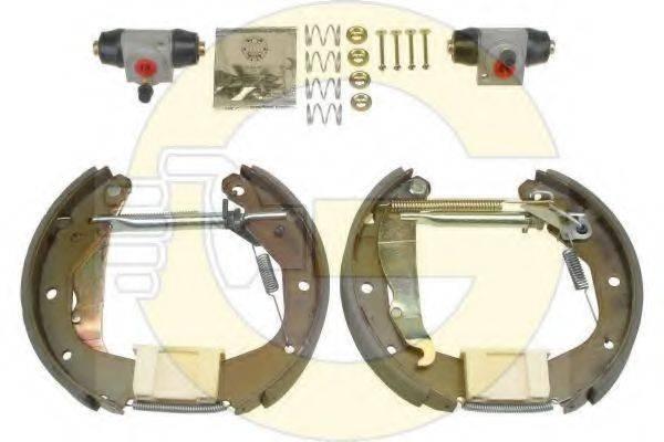 GIRLING 5316219 Комплект тормозных колодок