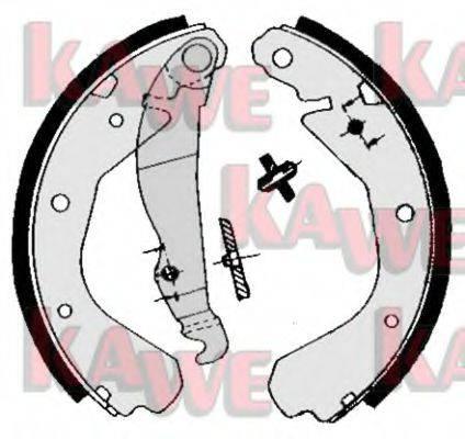 KAWE 04660 Комплект тормозных колодок