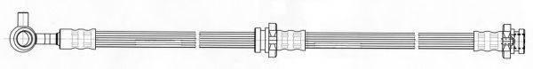 KAWE 512500 Тормозной шланг