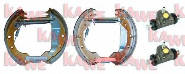 KAWE OEK356 Комплект тормозных колодок