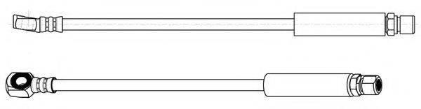 KAWE 510734 Тормозной шланг