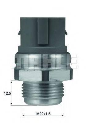 MAHLE ORIGINAL TSW48D Термовыключатель, вентилятор радиатора