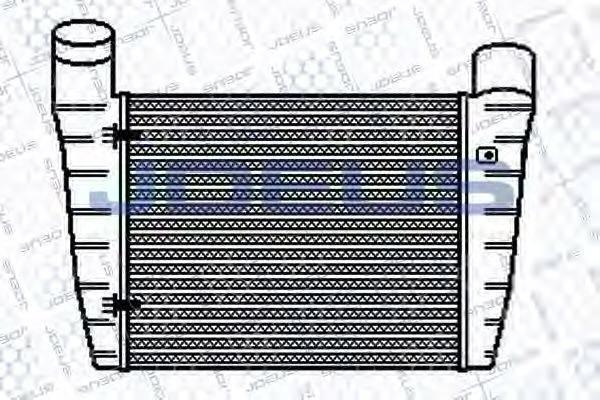 JDEUS 801M22 Интеркулер
