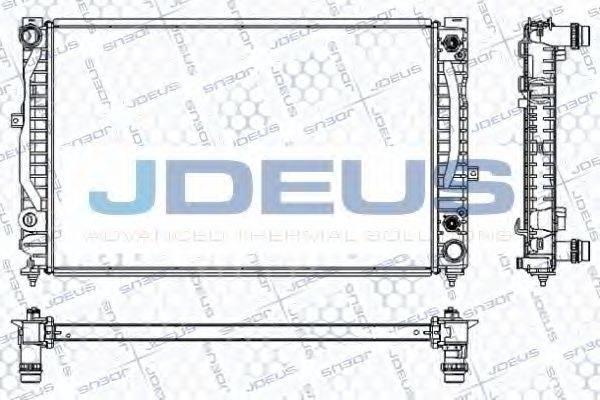 JDEUS RA0010220 Радиатор, охлаждение двигателя
