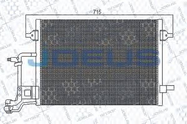 JDEUS 701M10 Конденсатор, кондиционер