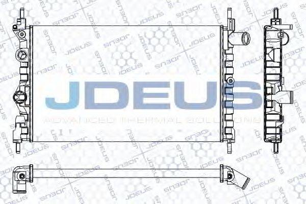 JDEUS RA0200411 Радиатор, охлаждение двигателя