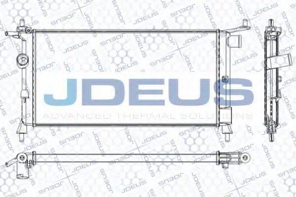 JDEUS RA0200660 Радиатор, охлаждение двигателя