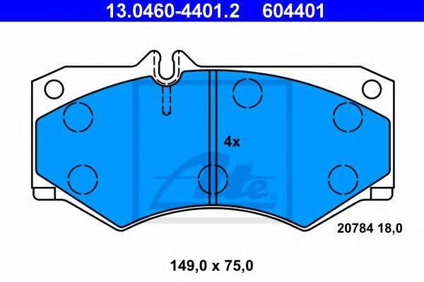 QUINTON HAZELL 0047.30 Комплект тормозных колодок, дисковый тормоз