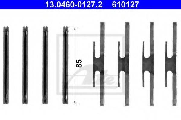 ATE 13046001272 Комплектующие, колодки дискового тормоза