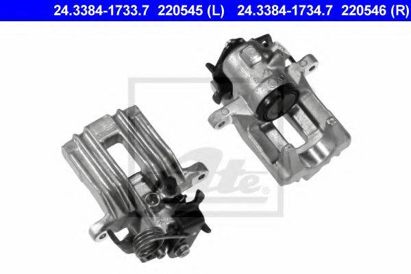 ATE 24338417337 Тормозной суппорт