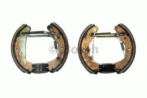 BOSCH 0204114519 Комплект тормозных колодок