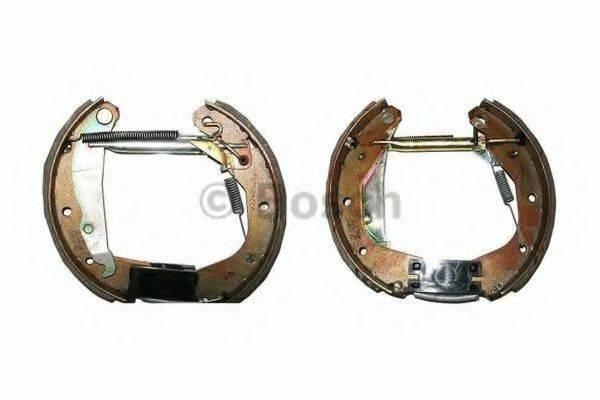 BOSCH 0204114608 Комплект тормозных колодок