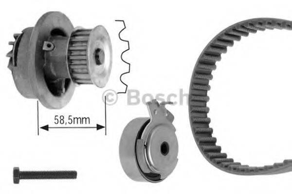 BOSCH 1987948733 Водяной насос + комплект зубчатого ремня