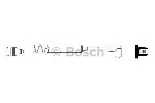 BOSCH 0986356087 Провод зажигания