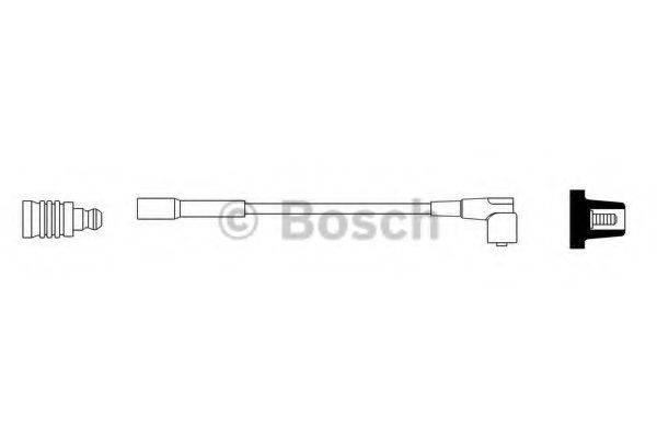 BOSCH 0986356163 Провод зажигания