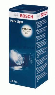 BOSCH 1987302202 Лампа накаливания, фонарь указателя поворота; Лампа накаливания, фонарь сигнала тормож./ задний габ. огонь; Лампа накаливания, фонарь сигнала торможения; Лампа накаливания, задняя противотуманная фара; Лампа накаливания, фара заднего хода; Лампа накаливания, задний гарабитный огонь; Лампа накаливания, стояночные огни / габаритные фонари; Лампа накаливания, габаритный огонь