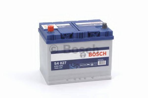 BOSCH 0092S40270 Стартерная аккумуляторная батарея; Стартерная аккумуляторная батарея