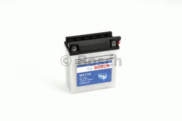 BOSCH 0092M4F180 Стартерная аккумуляторная батарея; Стартерная аккумуляторная батарея