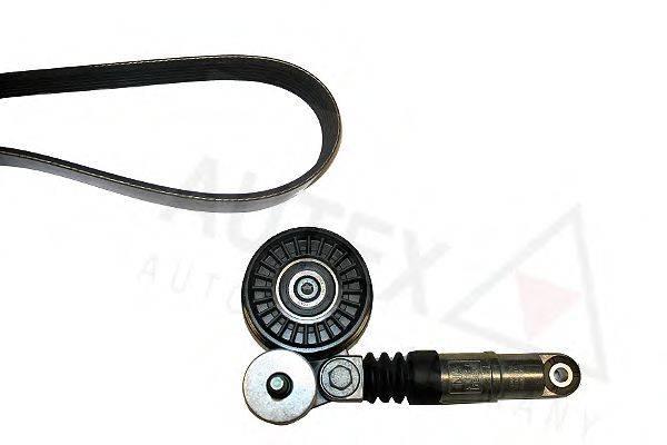 AUTEX 702376 Поликлиновой ременный комплект