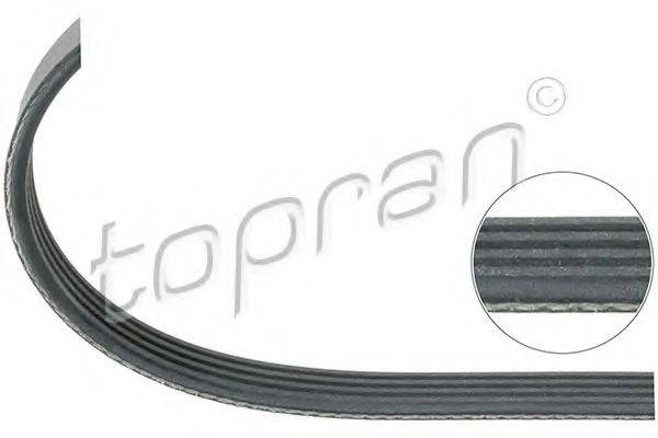 TOPRAN 111855 Поликлиновой ремень