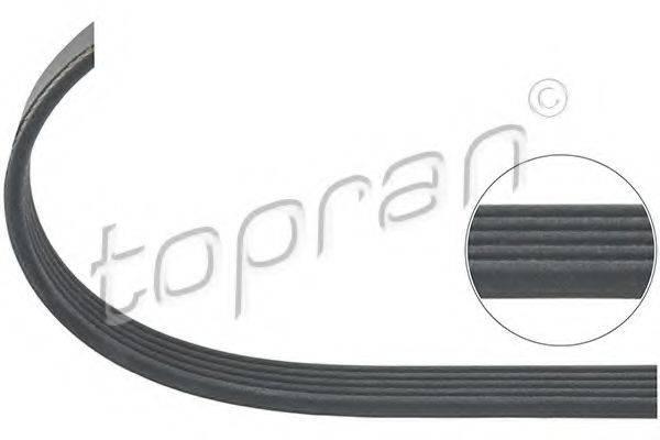 TOPRAN 109887 Поликлиновой ремень