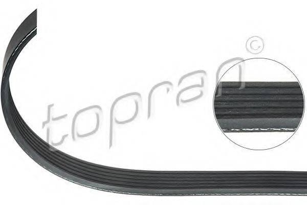 TOPRAN 111867 Поликлиновой ремень