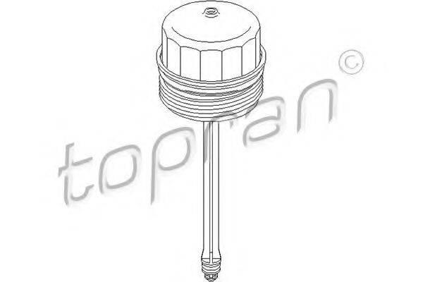 TOPRAN 112335 Крышка, корпус маслянного фильтра