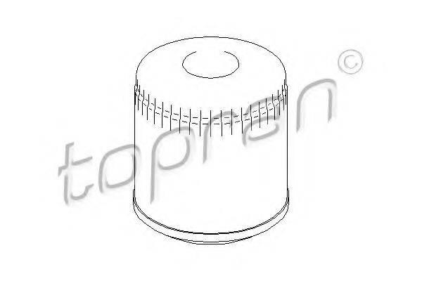 TOPRAN 105758 Масляный фильтр