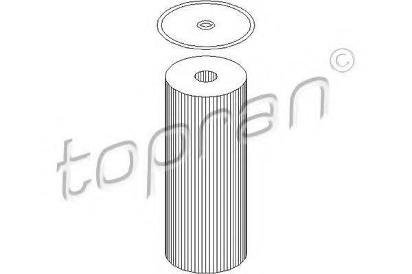 TOPRAN 108007 Масляный фильтр