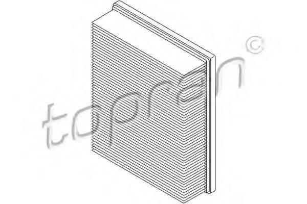 TOPRAN 107345 Воздушный фильтр