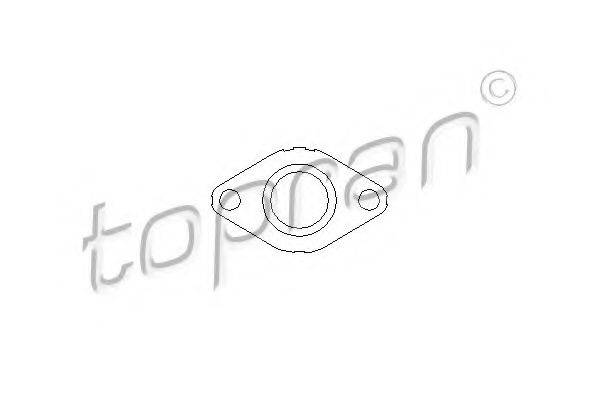TOPRAN 111183 Прокладка, клапан возврата ОГ