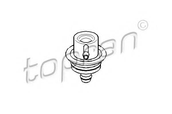 TOPRAN 112125 Регулятор давления подачи топлива