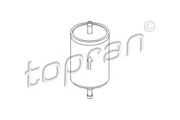TOPRAN 103023 Топливный фильтр