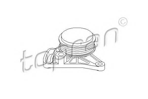 TOPRAN 109156 Натяжной ролик, поликлиновой  ремень